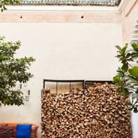 Wood Pile | Small Garden Ideas