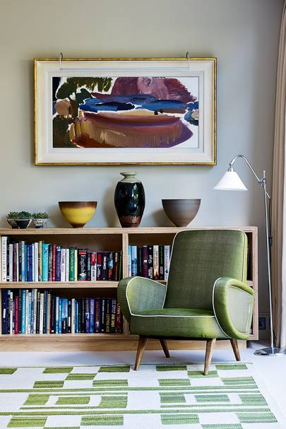 Adam Sykes London House Was Inspired By The Houses He Saw While Living On America S West Coast Armchair Bought At A Mid Century Show Lord Cricket