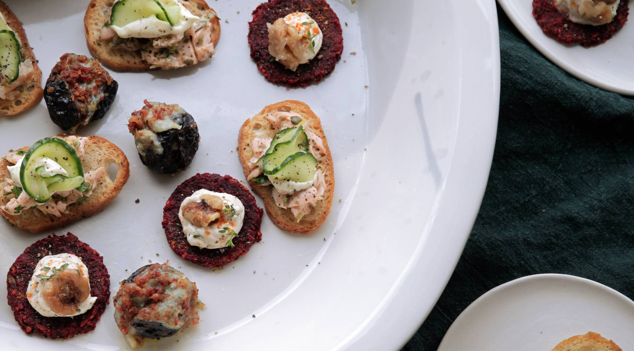 Daylesford Farm Cookery Course How To Make Canapes House Garden