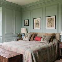 Traditional Panelled Bedroom