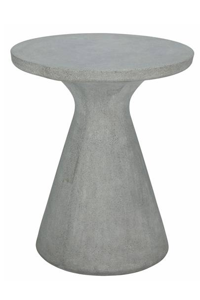 Round Concrete Garden Table