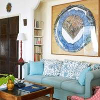 Framed Artwork in Sitting Room - A House in the South of France