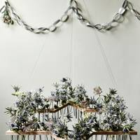 Test-tube wreath