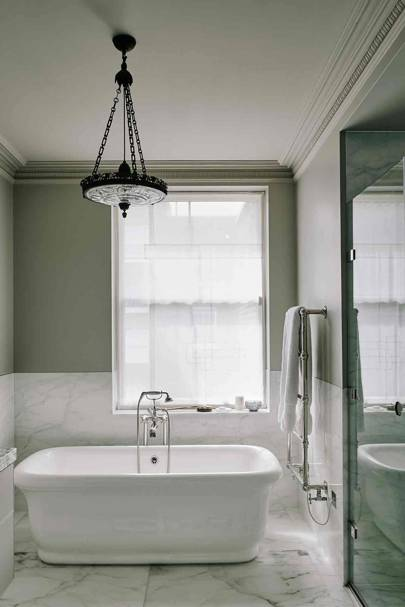 Bathroom - London Terrace Restoration