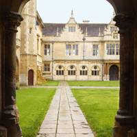 View From Great Hall - Apethorpe Palace