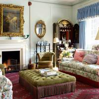Traditional Country Living Room with 'Maryport' Chintz