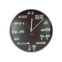 Einstein's Chalkboard Clock
