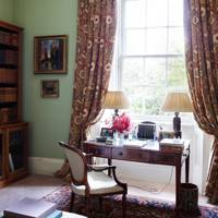 Library Study - Traditional Cornwall House