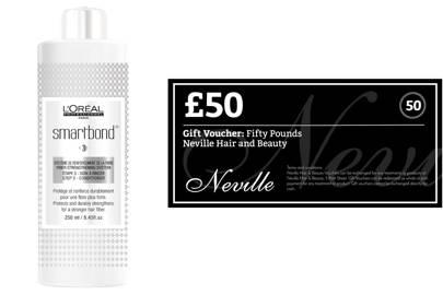 February 13: Neville Hair & Beauty, £80