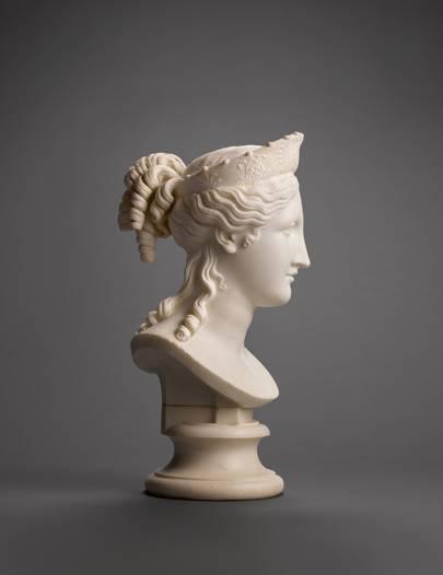 Canova Sculpture At Sothebys House Garden
