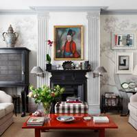 Living Room - The London Home of Wendy Nicholls