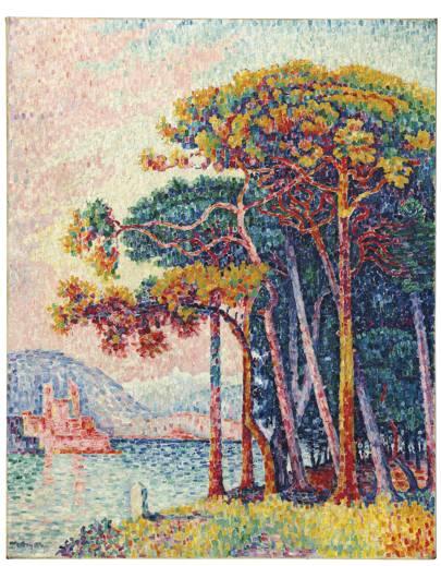 PAUL SIGNAC (1863–1935) Antibes (la pinède)