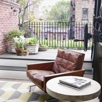 New York roof terrace/home office