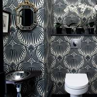 Black, White & Wallpapered