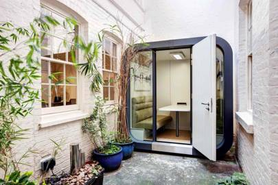 OfficePOD as an Outdoor Workspace