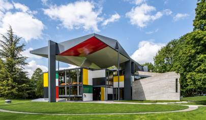 Le Corbusier's pavilion reopens with exhibition of architect's collection