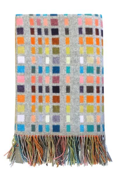 Morse Code Love Blanket