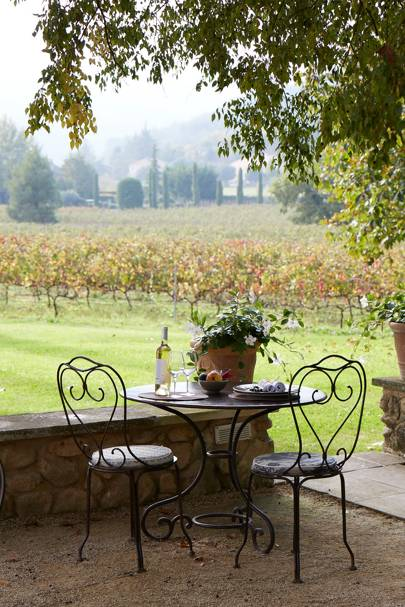 La Bastide: Outdoor Dining