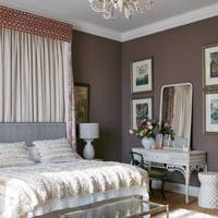 Canopy Idea in Mauve Bedroom
