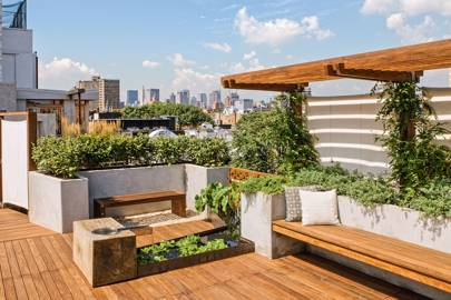 Charmant Modern Roof Garden With Decking