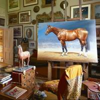 Sue Phipps Scottish Borders - Studio Paintings