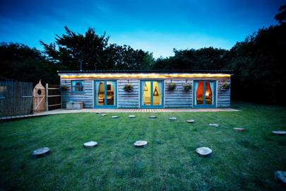 Cuckoo Moon Cabin Exterior