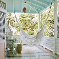 White Porch Hammock