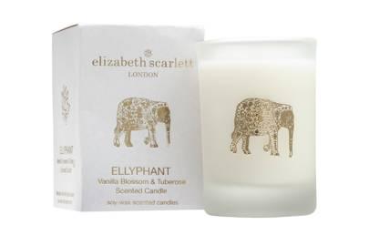 July 13: Elizabeth Scarlett Ellyphant Mini Candle, £12