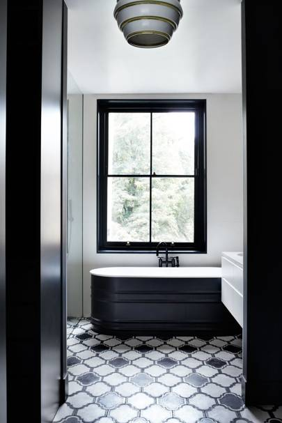 Monochrome Bathroom Tiles