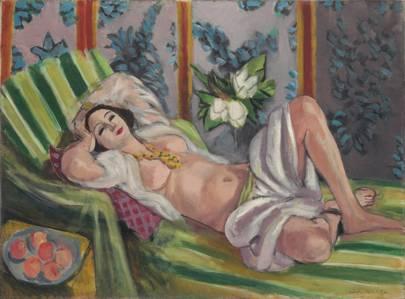 HENRI MATISSE (1869–1954) Odalisque couchée aux magnolias
