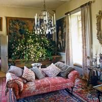 Robert Kime sitting room - Wiltshire