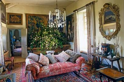 Robert Kime sitting room - Wiltshire