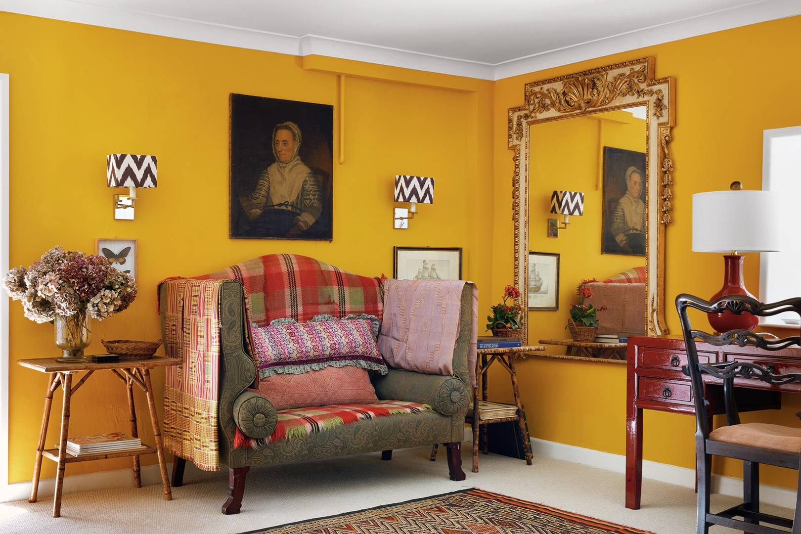 Yellow Paint Ideas Living Rooms Bedrooms Interiors House Garden