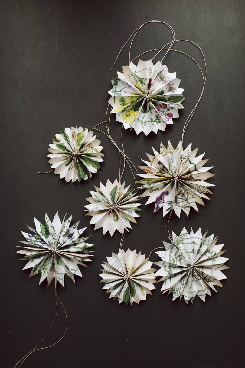 A simple guide to making paper star decorations