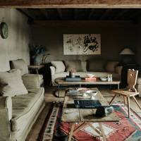 Chalet Sitting Area - At Home: Belgian Family Home & Alps Chalet | Real Homes