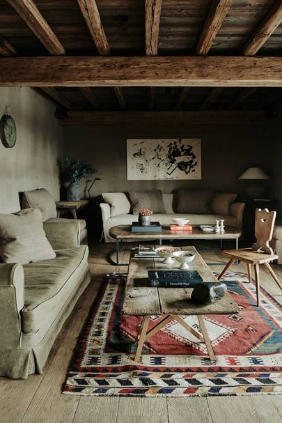 Chalet Sitting Area - Belgian Family Home & Alps Chalet