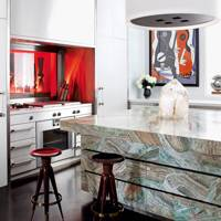 Green Onyx Kitchen Island