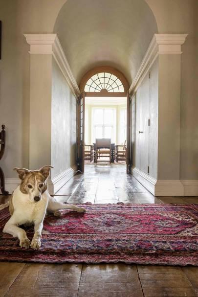 Corridor Rug - Newbuild Jacobean-style Manor