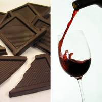 Dark Chocolate and Shiraz