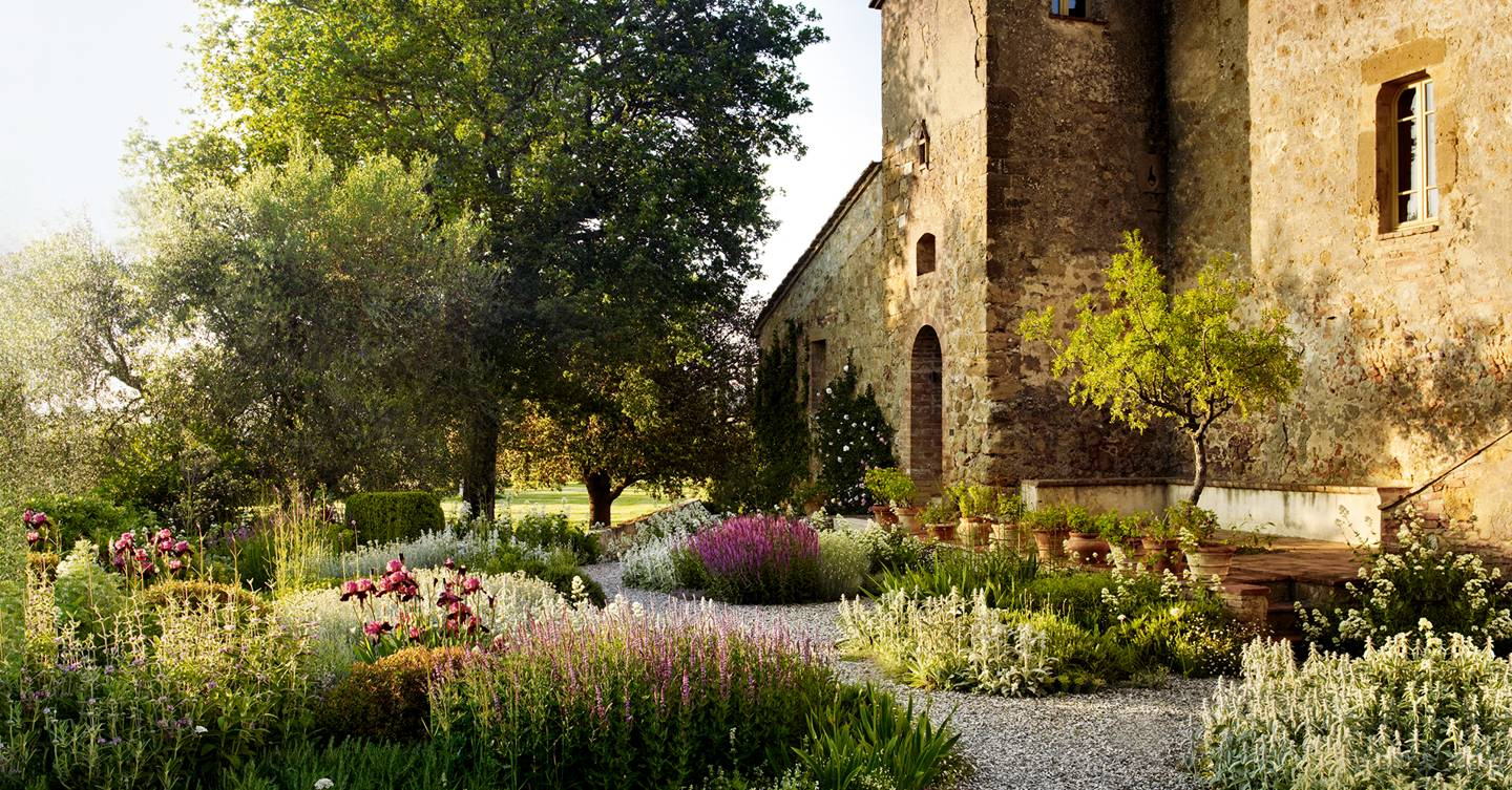 The extraordinary Tuscan garden at La Foce revitalised by Luciano Giubbilei