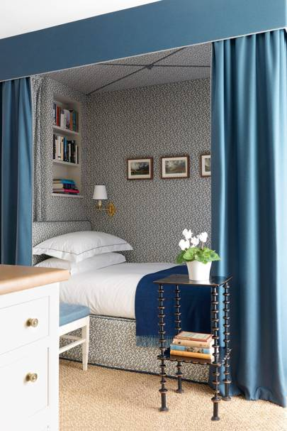 Bed Curtains | Small Space Ideas