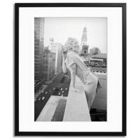 Marilyn Monroe on the balcony of the Ambassador Hotel, New York City in 1955
