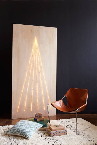 Wooden LED Fairy Light Christmas Tree