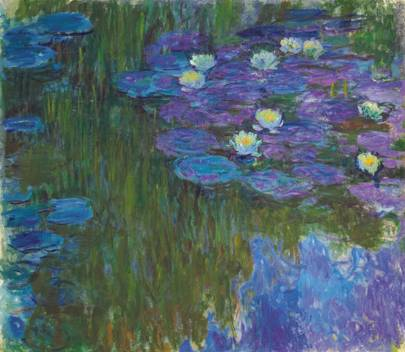 CLAUDE MONET (1840–1926) Nymphéas en  eur
