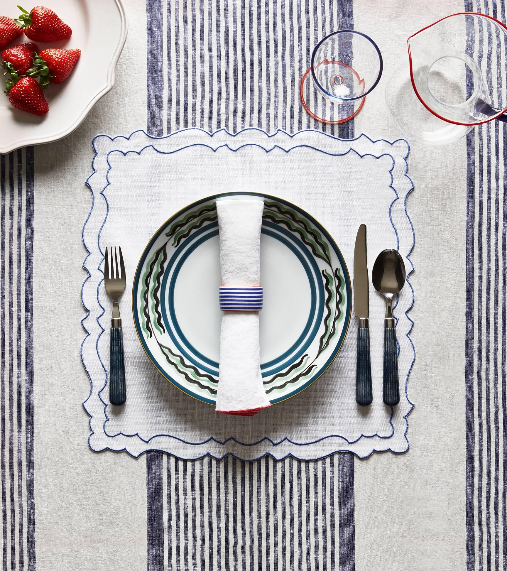 London Round Tablecloth Popular British Culture