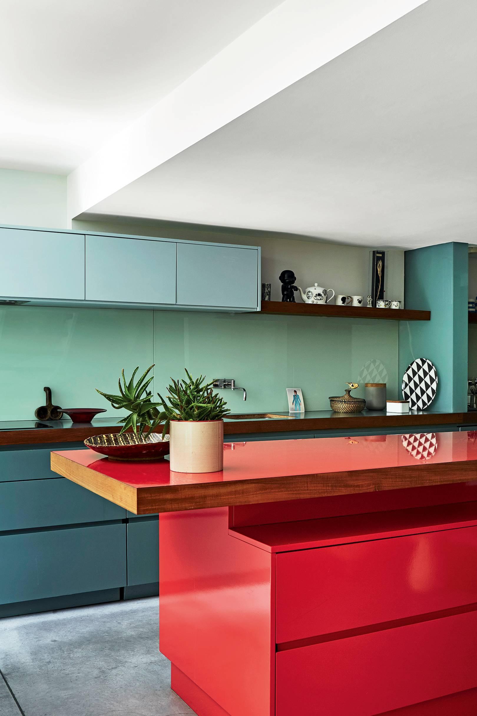 Coloured Kitchen Ideas Kitchen Colour Schemes House Garden