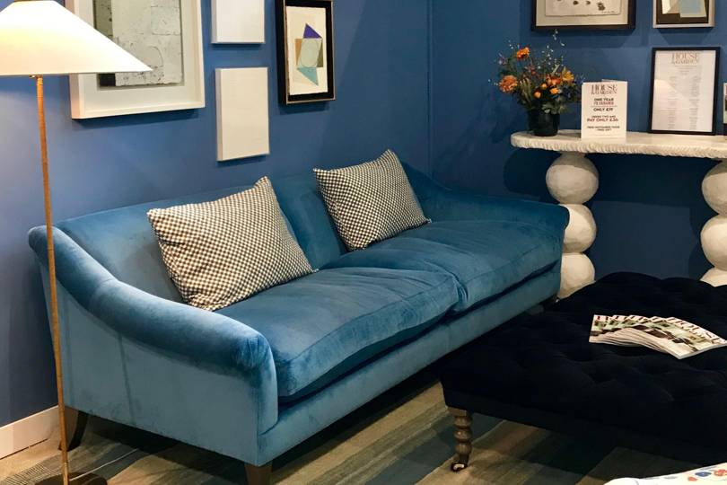 The House & Garden stand at Decorex is full of ideas to copy