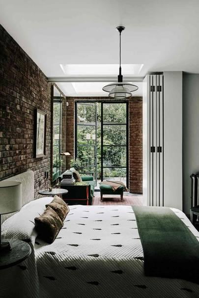 Terrace Bedroom - London Terrace Restoration