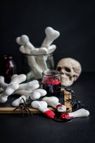 Meringue Bones, Blood-Soaked