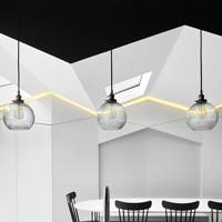 Modern Monochrome Dining Room
